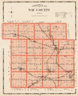 Sac County, Iowa State Atlas 1904