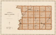 Sioux County, Iowa State Atlas 1904