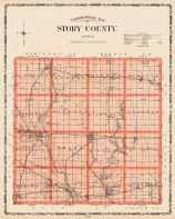 Story County, Iowa State Atlas 1904