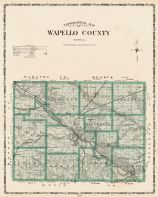 Wapello County, Iowa State Atlas 1904