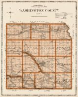 Washington County, Iowa State Atlas 1904