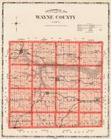Wayne County, Iowa State Atlas 1904