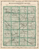 Winneshiek County, Iowa State Atlas 1904
