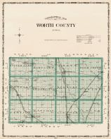 Worth County, Iowa State Atlas 1904