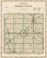 Wright County, Iowa State Atlas 1904