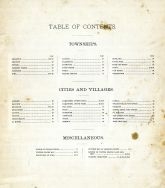 Table of Contents, Jackson County 1893