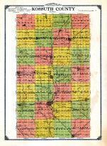 County Topographical Map
