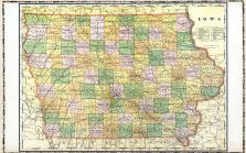 Iowa Map, Linn County 1907