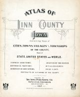 Title Page, Linn County 1907