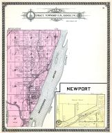 Newport, Mississippi River, Beatty Pond, Louisa County 1917