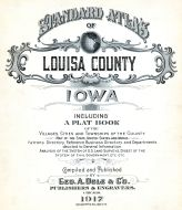 Title Page, Louisa County 1917