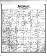 Jefferson Township, Madison County 1875