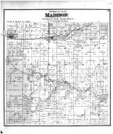 Madison Township, Earlham, Madison County 1875