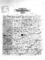 Outline Map, Madison County 1901