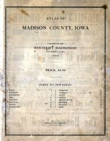 Title Page, Madison County 1912