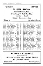 Madison County Farm Directory - Page 003, Madison County 1954