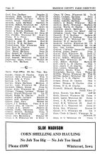 Madison County Farm Directory - Page 010, Madison County 1954