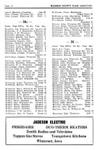 Madison County Farm Directory - Page 018, Madison County 1954