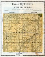 Jefferson and West Des Moines - Parts, Mahaska County 1913