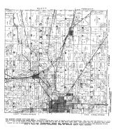 Lincoln Township, Garfield Township, Oskaloosa, Evans, Beacon, Mahaska County 1943