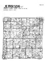 Jefferson Township, Mahaska County 1955