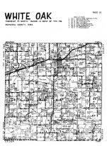 White Oak Township, Rose Hill, Mahaska County 1955
