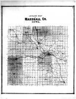 Outline Map, Marshall County 1871