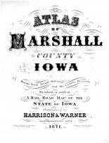 Title Page, Marshall County 1871