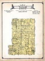 Taylor Township, Marshall County 1920c