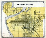 Council Bluffs, Mills and Pottawattamie Counties 1913