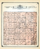 James Township, Mills and Pottawattamie Counties 1913