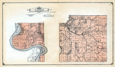 Lewis Township, Mills and Pottawattamie Counties 1913