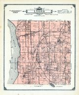 Lyons Township, Mills and Pottawattamie Counties 1913