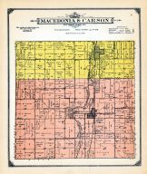 Macedonia and Carson Townships, Mills and Pottawattamie Counties 1913