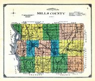 Mills County, Mills and Pottawattamie Counties 1913