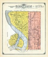 Oak and St. Mary's Townships, Mills and Pottawattamie Counties 1913