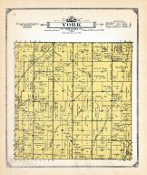 York Township, Mills and Pottawattamie Counties 1913