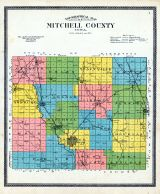 Mitchell County Topographical Map, Mitchell County 1911