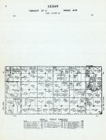 Cedar Township - Code Letter EA, Mitchell County 1960