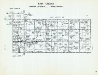 East Lincoln Township - Code Letter RE, Little Cedar River, Mitchell County 1960
