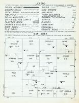 Index Map and Legend, Mitchell County 1960