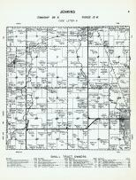 Jenkins Township - Code Letter N, Wapsipinicon River, Riceville, David, Beaver Creek, Mitchell County 1960
