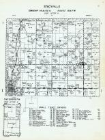 Stacyville Township - Code Letter H, Little Cedar River, Mitchell County 1960