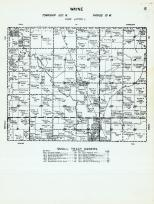 Wayne Township - Code Letter L, Bailey, McIntire, Wapsipinicon River, Mitchell County 1960