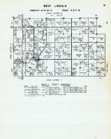 West Lincoln Township - Code Letter W, Orchard, Spring Creek, Mitchell County 1960