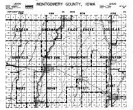 Montgomery County Index Map, Montgomery County 1949