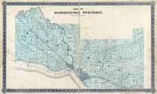 Bloomington Township, Muscatine County 1884