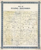 Fulton Township, Muscatine County 1884