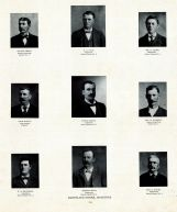 Grete, Cole, Sauer, McEvoy, Schmidt, Browning, Rieck, Stiles, Muscatine County 1899