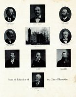 Hutchinson, Hunt, Little, Koeckeritz, Morgridge, Appel, Engel, Busch, Witter, Muscatine, Muscatine County 1899